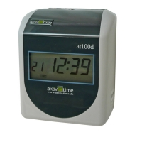 Docházkové hodiny active time at100d