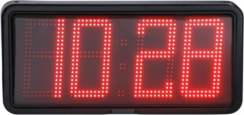 LED nástěnné digitální hodiny EZA 20 R se spínáním sirény