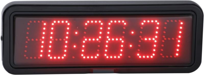 LED nástěnné digitální hodiny EZB 10R