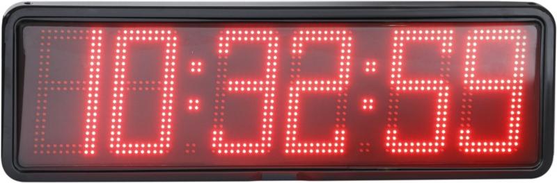 NTP LED nástěnné digitální hodiny EZA 20 L se spínáním sirény