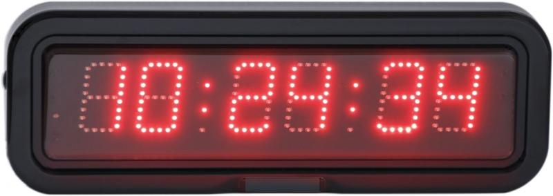 LED nástěnné digitální hodiny EZB 5 L