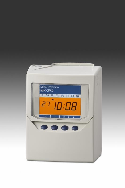 Docházkové hodiny se sčítáním docházky na kartě SEIKO QR-395