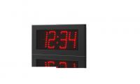 Venkovní digitální hodiny / teploměr ZA 10 R metal