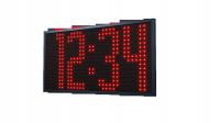 Venkovní digitální hodiny / teploměr ZA 40 L matrix