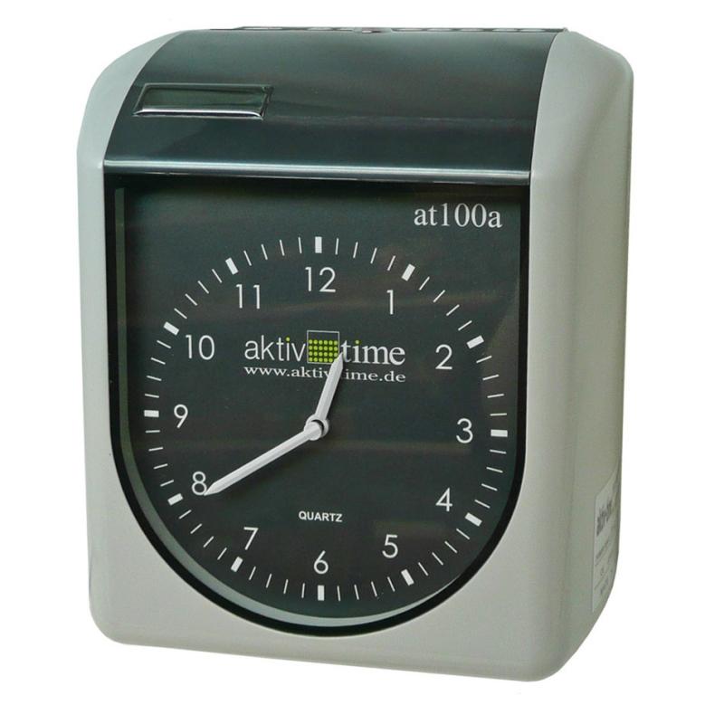 Docházkové hodiny s analogovým ukazatelem