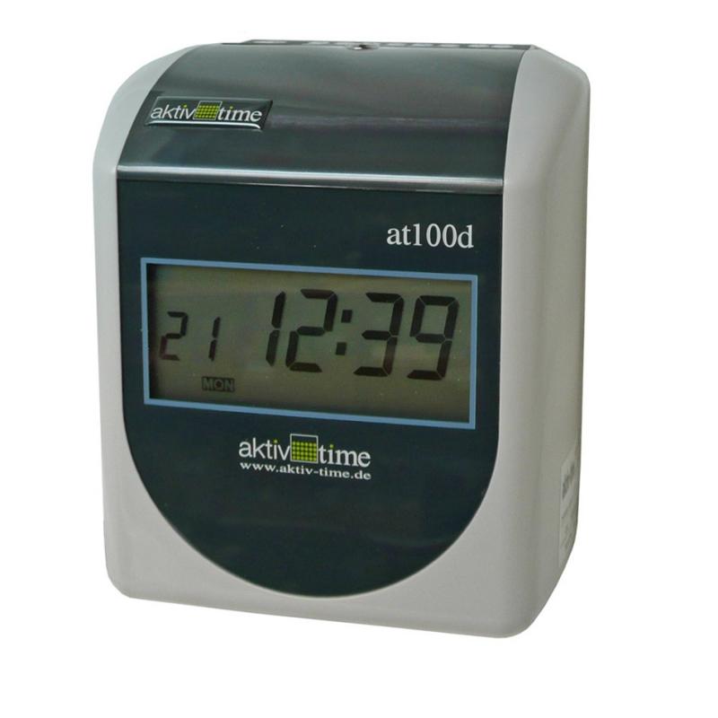 Docházkové hodiny s digitálním ukazatelem