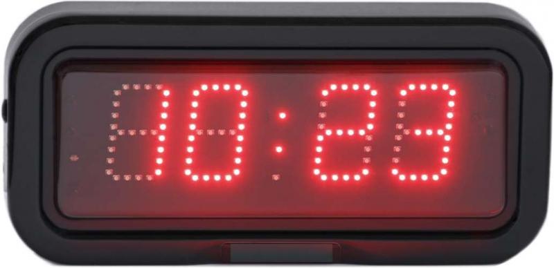 LED nástěnné digitální hodiny EZA 5