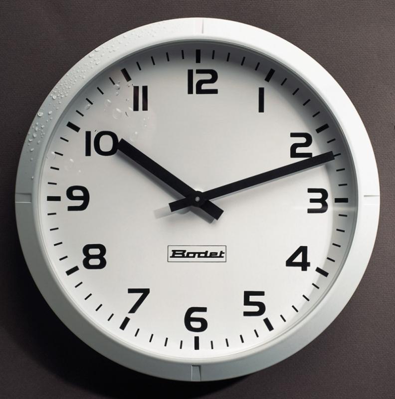 Průmyslové ručičkové nástěnné hodiny